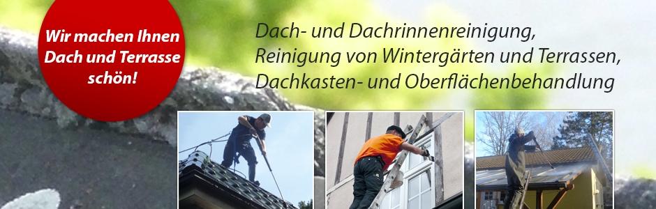Dach- Dachrinnenreinigung
