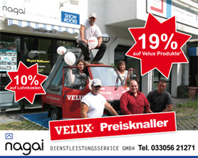 Velux Dachfenster Rabattaktion