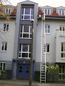 Dachrinnenreinigung und Dachreinigung in Berlin und Brandenburg