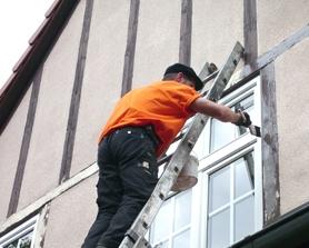 Dachkasten- und Oberflächenbehandlung