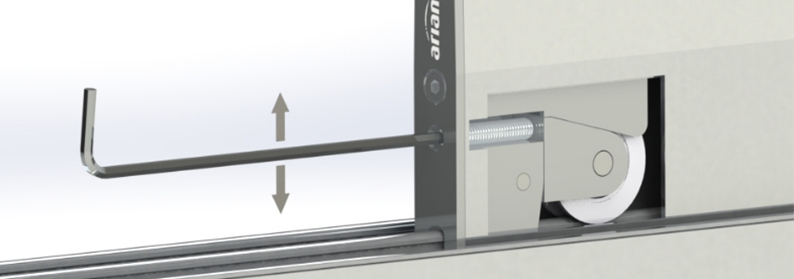 Ariane Teneriffa Schiebesystem für Terrassenueberdachung