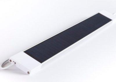 eRollo-ACCU Solarpanel mit USB-Stecker für Akkurollos