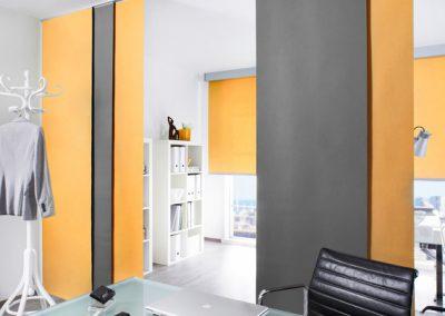 Flächenvorhänge und mehr für Zuhause und Büro