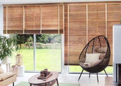 Holzjalousien Kollektion Pure-Wood