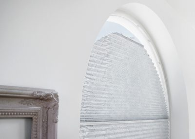 Plissees für runde-Fenster
