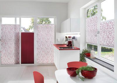 Plissees für Standardfenster