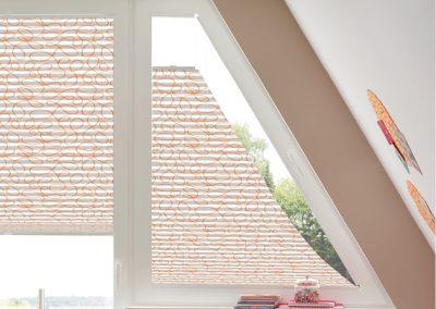 Plissees für Vieleck-Fenster