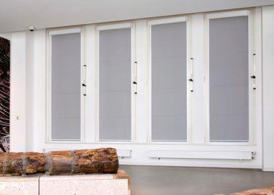 Verdunklungsanlagen für Fenster