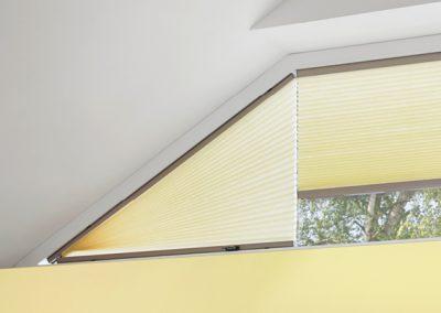 Wabenplissees für Dreieckige-Fenster