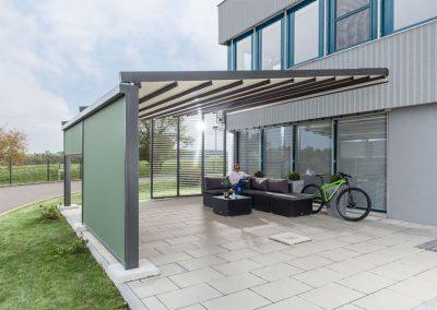 Sonnenschutz und Sichtschutz Markise wasserdicht Bella-Plaza
