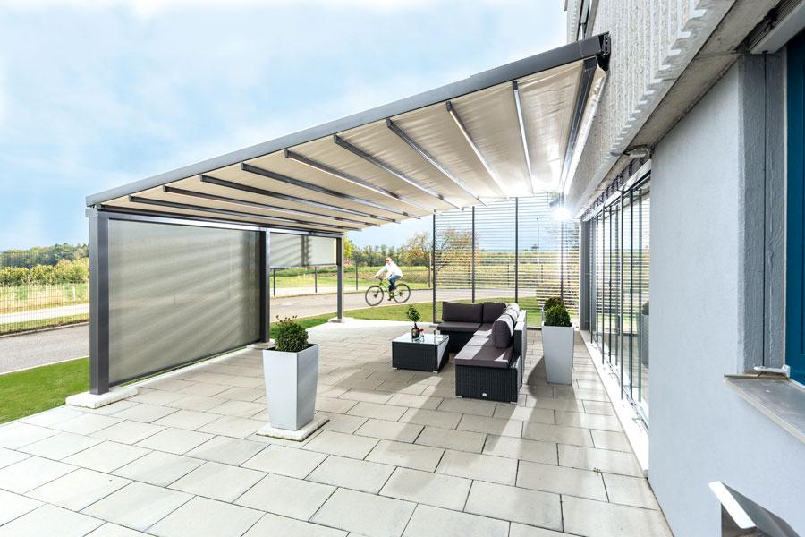 Reflexa Terrassendach & Terrassenüberdachung Sonnenschutz in Reinickendorf Hermsdorf